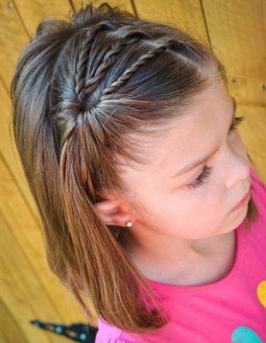 Las niñas pequeñas adoran llevar el pelo con diferentes peinados, ponerse accesorios y lucir lindas. Una alternativa para las peques con p...