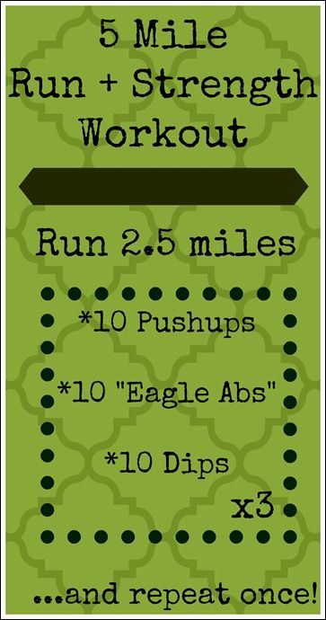 5 Mile Running Workout