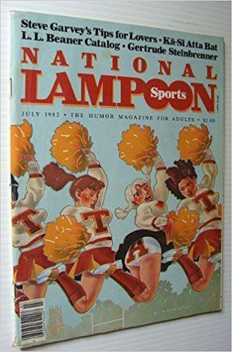 National Lampoon Magazine, July 1982 - Sports Issue: http://www.blueharvestfarm.com/1/834c8083.jpg: Amazon.com: Books