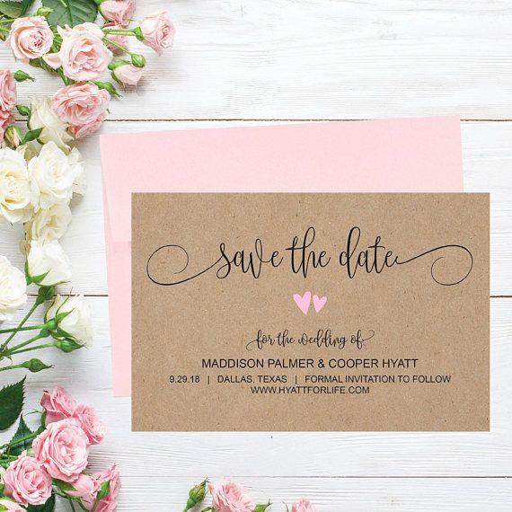 4285 best wedding decor images on pinterest bridal shower favours printable wedding save the date cards editable template junglespirit Images