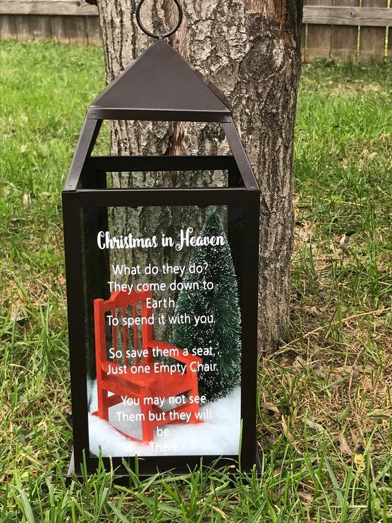 Christmas In Heaven Lantern Memorial Lantern Products
