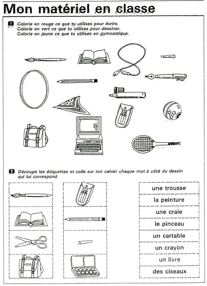 Assez 783 best Le Vocabulaire images on Pinterest | Sleep, French class  DH62