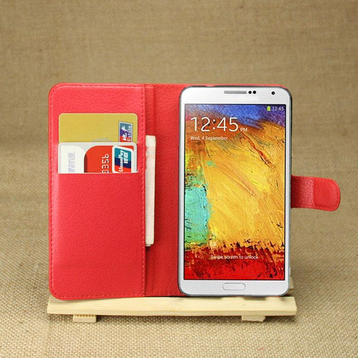BrankBass For Note 3 NEO Wallet Flip PU Leather Cover Case For Samsung Galaxy Note 3 NEO N7505 With Card Slots Holder