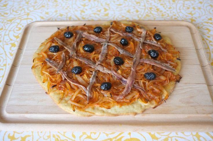 """Recette sans gluten de pissaladière - glutenfree South of France """"pissaladière"""" recipe"""
