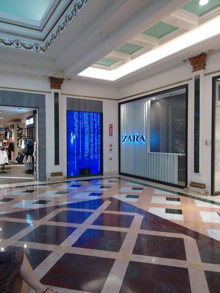 ZARA Store BSOD Madrid Spain #bsod #pbsod