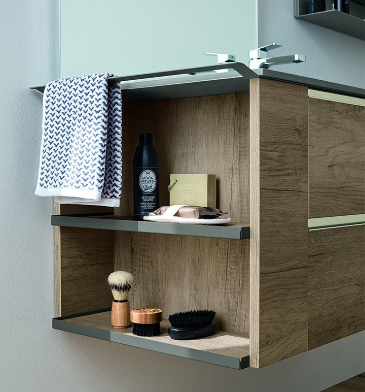 Bathroom furniture collection: Dress by Arblu