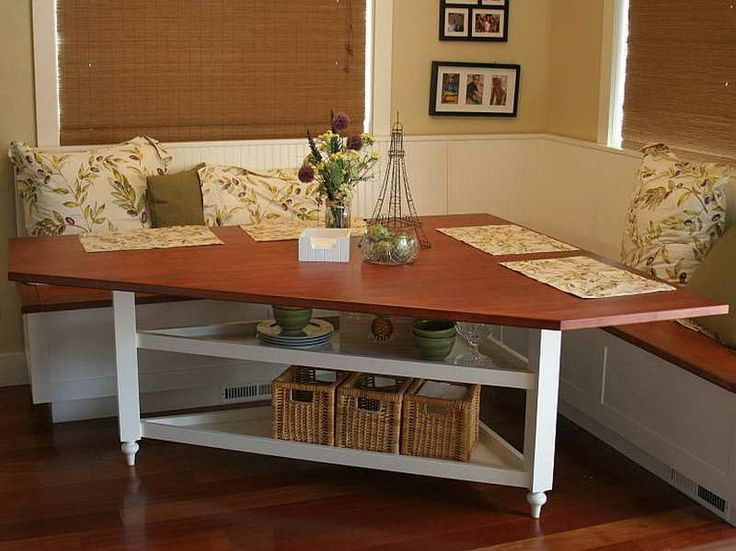 9 best images about breakfast nook on pinterest stripes Breakfast nook table