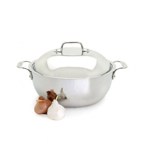 all clad stainless 55 qt dutch oven