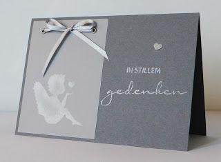 Trauerkarte / Sympathy Card, Alexandra Renke, Engel