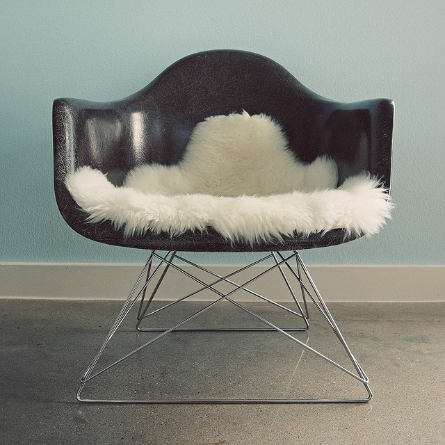 modernica shell chair base. chocolate eames shell chair in real fiberglass from modernica with low wire base. base