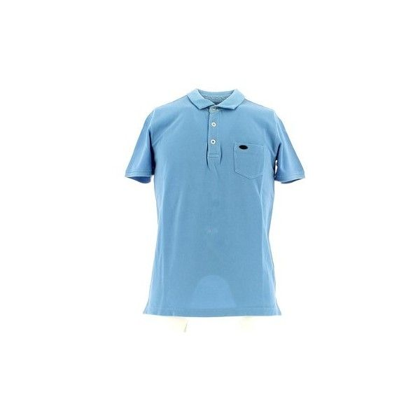 Key Up 724Q 0001 Polo Man Polo shirt (1 240 UAH) ❤ liked on Polyvore featuring men's fashion, men's clothing, men's shirts, men's polos, blue, men, polo shirt, mens blue polo shirts, mens polo shirts and mens blue shirt