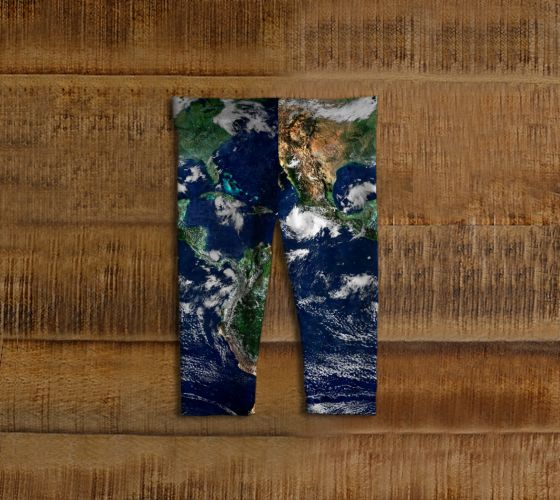 Earth Baby Leggings - Available Here: http://artofwhere.com/shop/product/73061