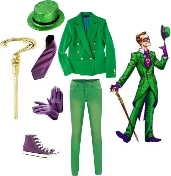 """Riddler"" by kurtifer on Polyvore"