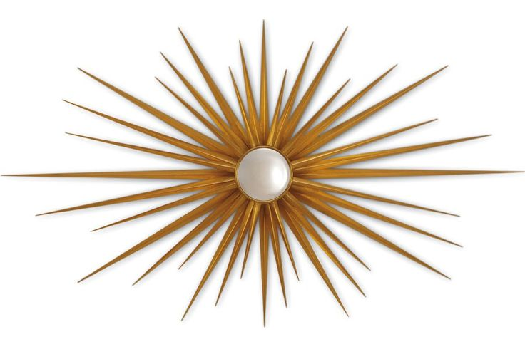 February's Most Wanted, Starburst mirrors will never go out of style for me this one by Christopher Guy is to die for!