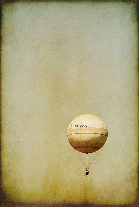 BALOON  vintage art abstract photography surreal by MagicSky, Kč400.00