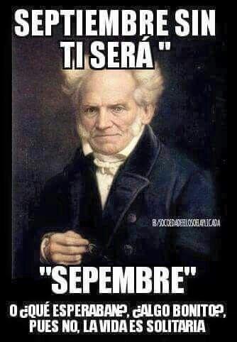 """Septiembre sin """" ti """""""
