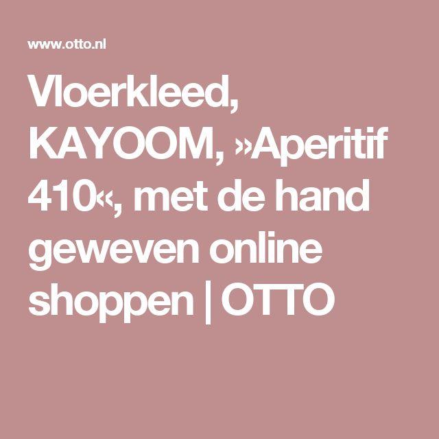 Vloerkleed, KAYOOM, »Aperitif 410«, met de hand geweven online shoppen   OTTO