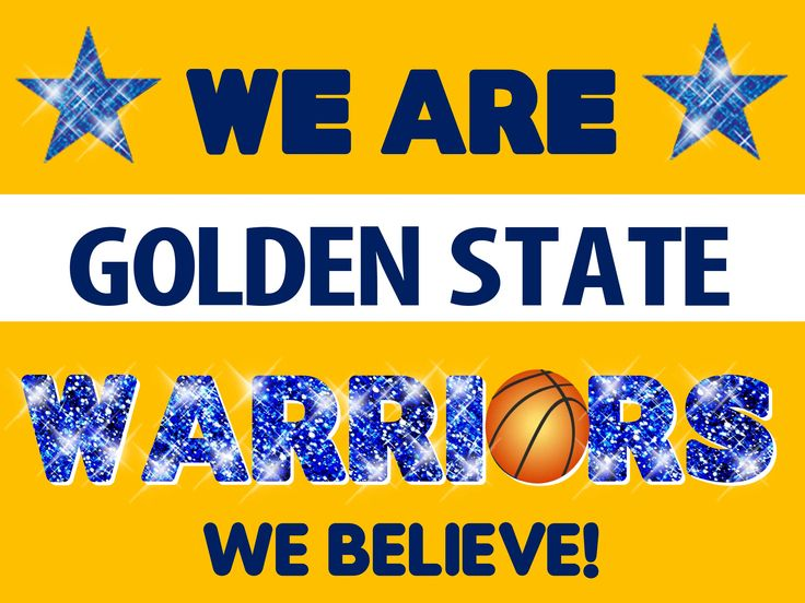 Golden State Warriors Poster Idea