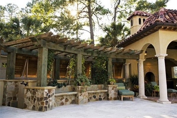 You can get help of different pictures of the front side pergolas, which you will find on the interest. You keep in mind the construction style of your home and add pergola in the same manner.