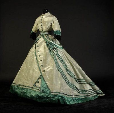 Walking dress, 1860's, From the collection of Alexandre Vassiliev