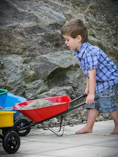 Mocka Kids Steel Wheelbarrow