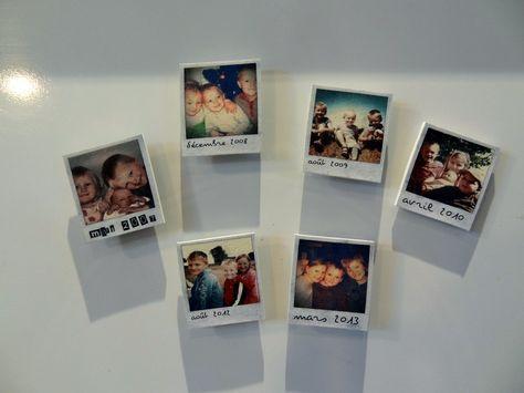 magnet photo plastique fou une idée pour la fête des mères et des pères