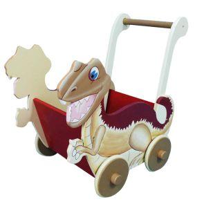 Dinosaur Push Cart