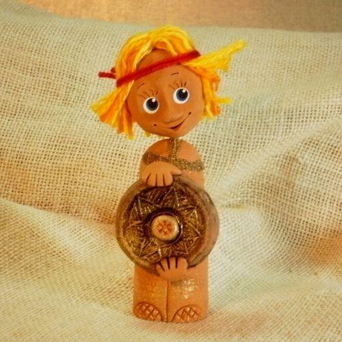 Сувенир СПИРИДОН-СОЛНЦЕВОРОТ | КОРН - керамика в Новосибирске