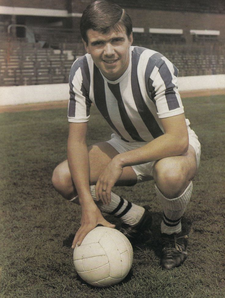 July 1967. West Bromwich Albion inside forward Bobby Hope.
