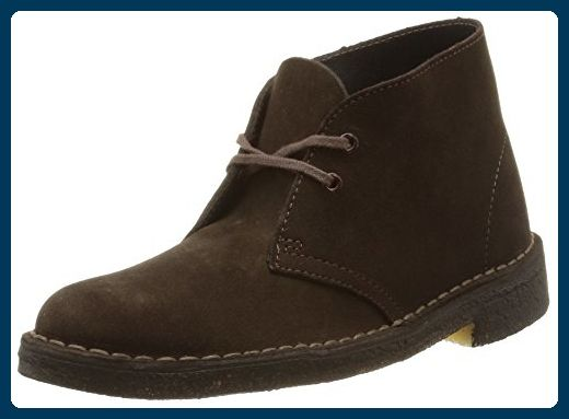 Clarks Originals Desert Boot, Damen Desert Boots, Braun (BROWN SUEDE), 37.5 EU - Stiefel für frauen (*Partner-Link)