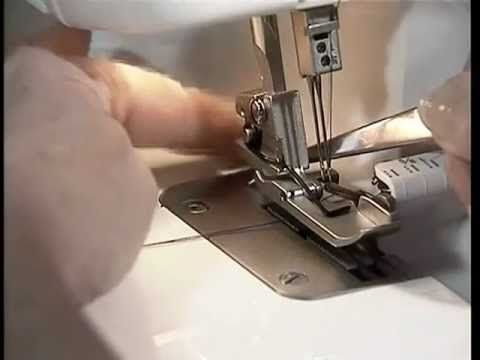 ▶ Janome Domestic Overlocking Machine Tutorial - YouTube