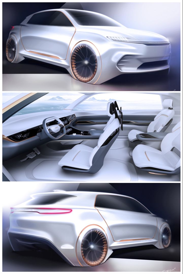 Airflow Vision Concept A Preview Of Future Chrysler Interiors In