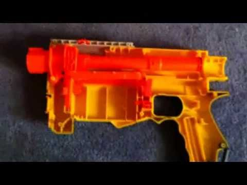 DETAILED MOD NERF RECON CS-6 AIR RESTRICTOR REMOVAL & SPRING STRETCH