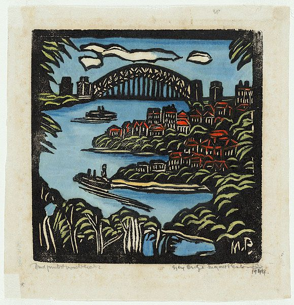 Margaret Preston - Sydney Bridge