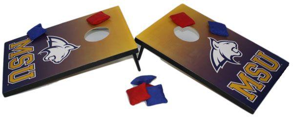 Bean Bag Toss, Blue and Gold MSU Bobcat game | MSU Bookstore
