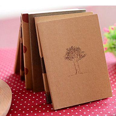 Unelma Aika Kraft Paperi Kansi Diary Notebook (random väri) – EUR € 1.83
