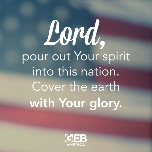 Join in as we pray for our nation… Please SHARE this prayer to encourage others to pray with you. #America #USA #Prayer