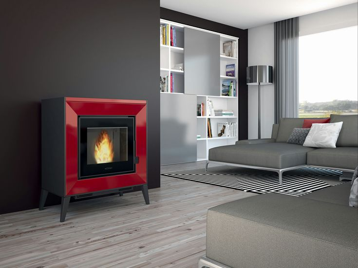 Piazzetta's LINE Pellet Fireplace: Original shaped cladding frames the firebox, giving the appliance a particularly innovative look that goes hand in hand with the latest technology.   TECHNICAL DATA  Room heating capacity (min-max) m3 145 - 250 Rated heat output (min-max) kW 2,7 - 8,6 Power adjustable (positions) 4 Nominal thermal efficiency % 89,3 Consumption at rated heat output (min-max) Kg/h 0,6 - 1,9 Dimensions WxDxH cm 82x47x93,5  www.calore.co.za