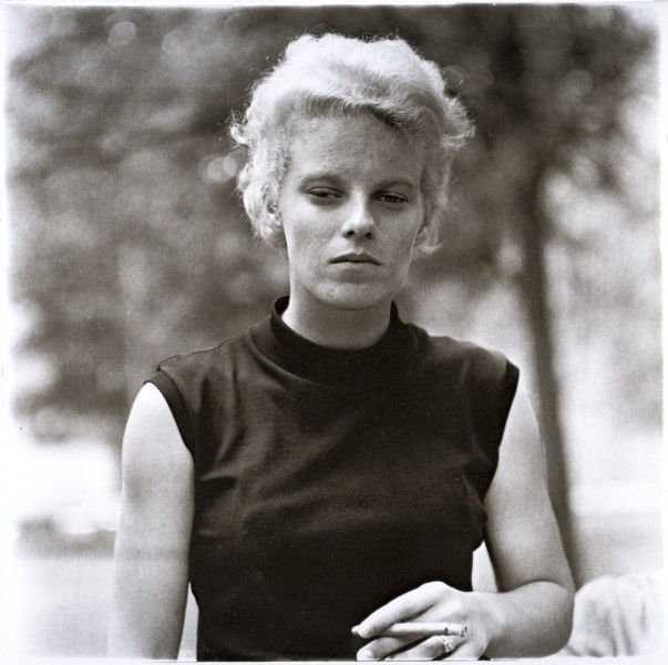 Diane Arbus: Girl with a Cigar, Washington Square Park
