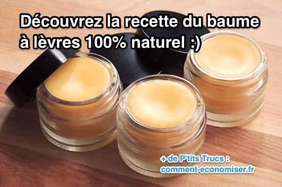 Vous allez tomber amoureux de ce délicieux baume à lèvres ! Il ne coûte pas cher, et il est de bien meilleur qualité que les baumes du commerce !  Découvrez l'astuce ici : http://www.comment-economiser.fr/la-recette-du-baume-a-levres-naturel-facile.html?utm_content=buffer10293&utm_medium=social&utm_source=pinterest.com&utm_campaign=buffer