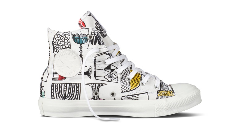 New Marimekko & Converse collab prints. CT HI Kippis
