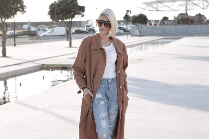 Nada Para Vestir: Oversize Square Retro Block Hipster Sunglasses 9259