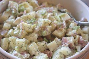 Orosz saláta – füstölt sonkával és tormakrémmel, ez egy igazán különleges saláta, csodás ízekkel! - Ketkes.com