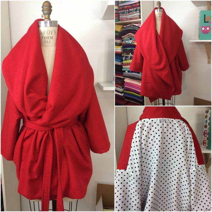 Free #DIY Blanket Coat Sew-Along - Mimi G Style