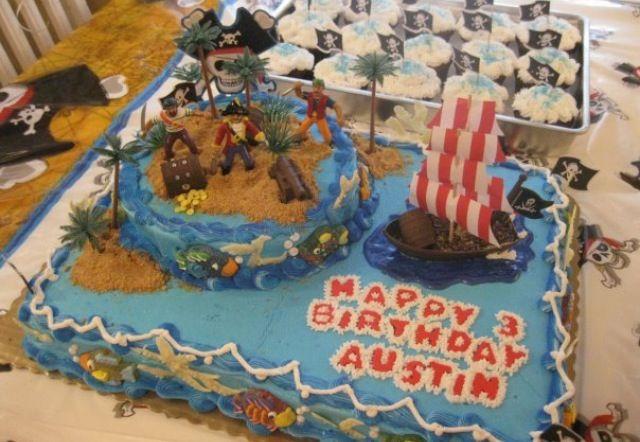 Pirates cake
