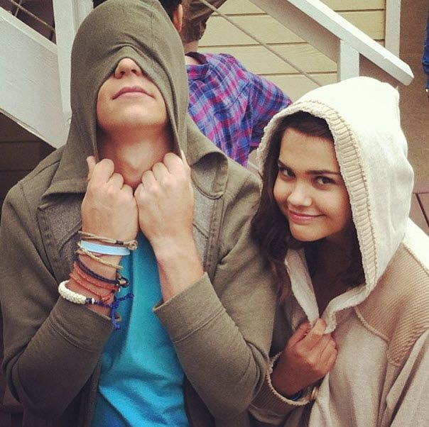 "Dis411 Pics: Ross Lynch And Maia Mitchell Worked On ""Teen Beach Movie"" Promos June 8, 2013"
