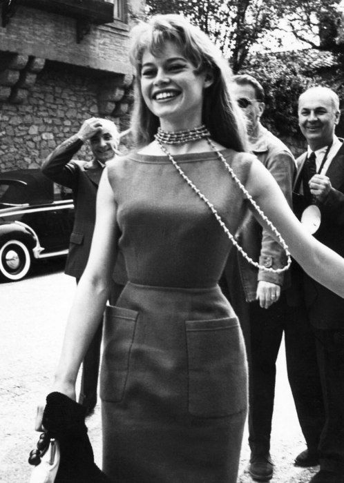 Brigitte Bardot at the 1956 Cannes Film Festival