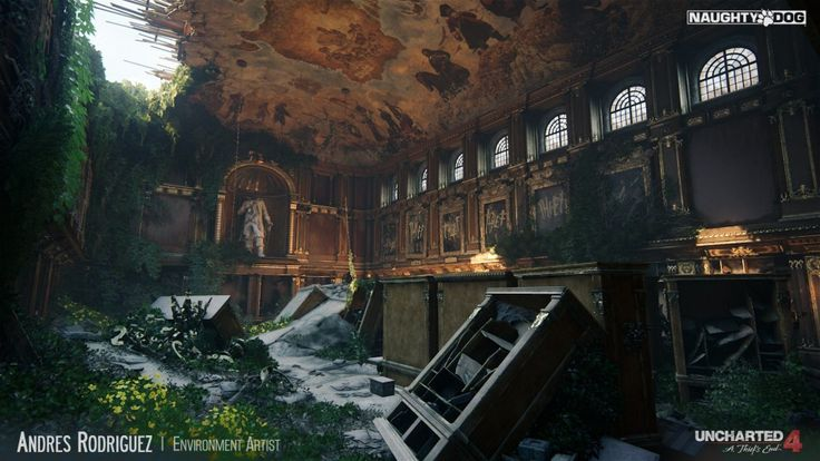 by Andres Rodriguez, Environment Artist at Naughty Dog