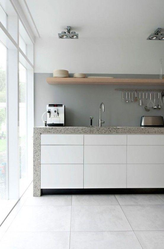 37 Functional Minimalist Kitchen Design Ideas | DigsDigs