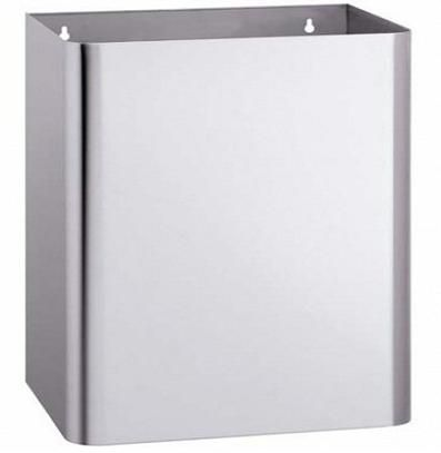 RB645 Stainless Steel Wall Mount 45L Capacity Waste Bin; Available in Australia